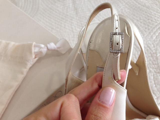 Cómo teñir zapatos de novia