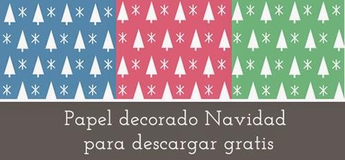 Manualidades papel de navidad para imprimir - Manualidades navidad papel ...
