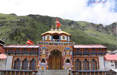 Subramaniam Badrinath,Badrinath yatra,Hindu Temple