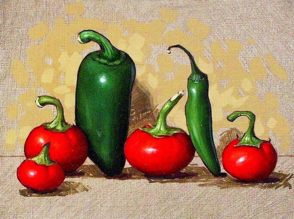 Im genes arte pinturas bodegones con frutas y verduras - Fotos de bodegones de frutas ...