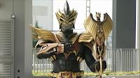 Kamen Rider Odin Ryuki Goldphoenix