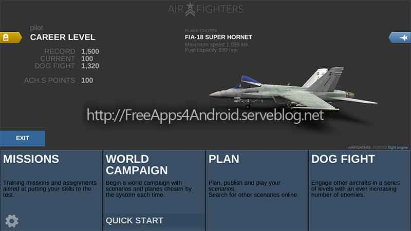 AirFighters Pro Free Apps 4 Android