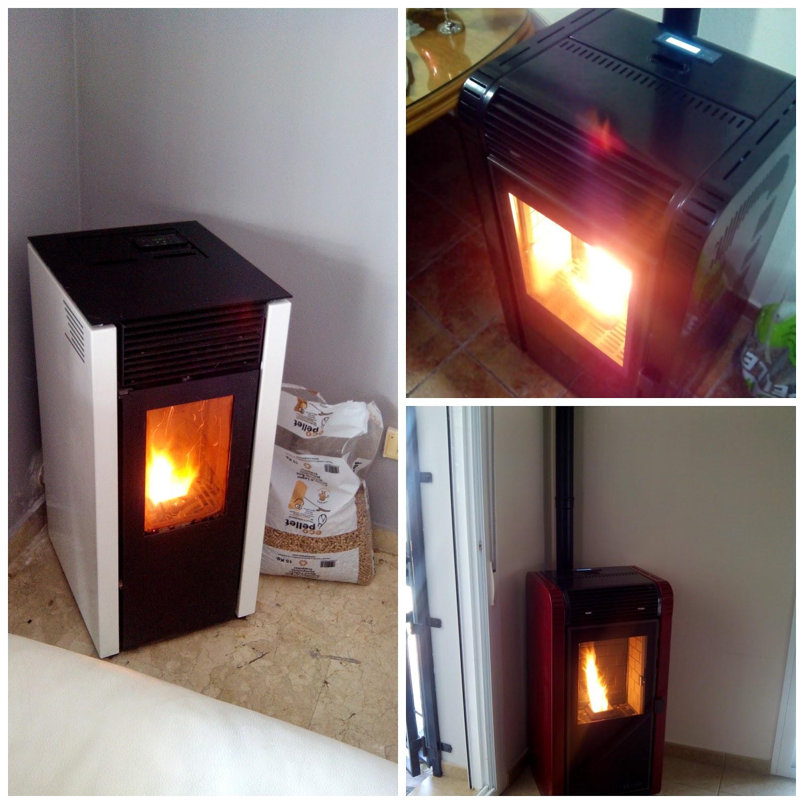 Eficiencia energ tica ahorrando energ a fotos estufas - Estufas de biomasa ...