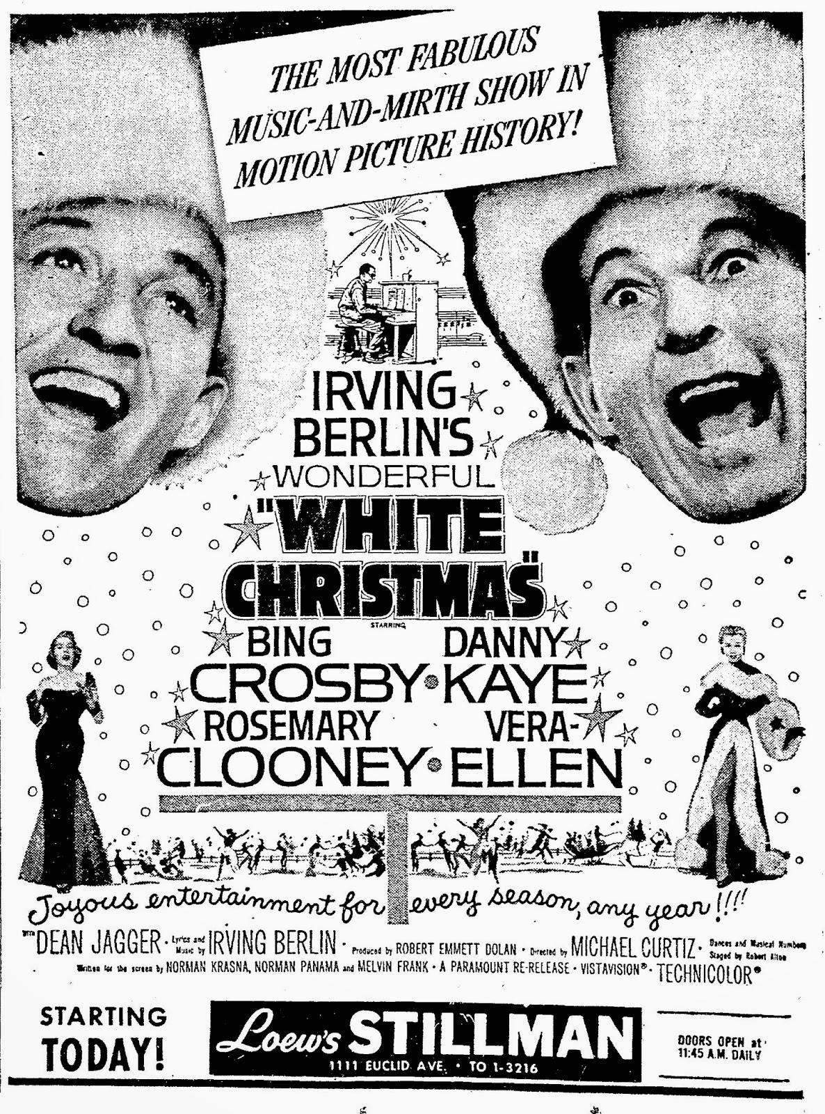 Frank\'s Place: Loew\'s Stillman: White Christmas
