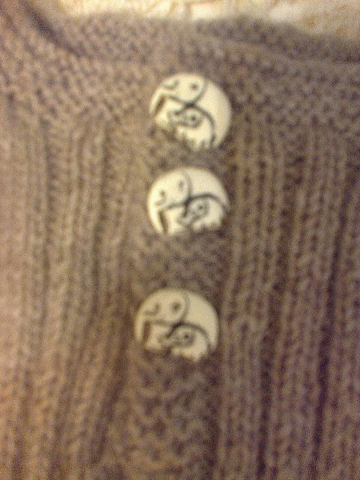 strikket barnevest