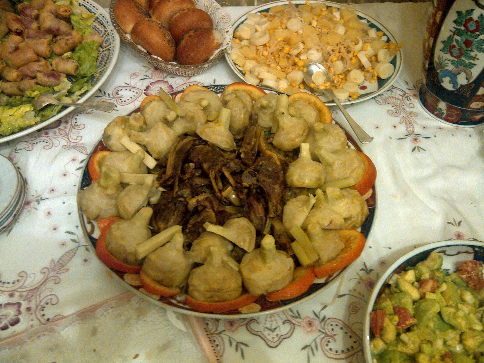 Riad souafine com fes maroc f s mimouna la tradition for Cuisine juive marocaine