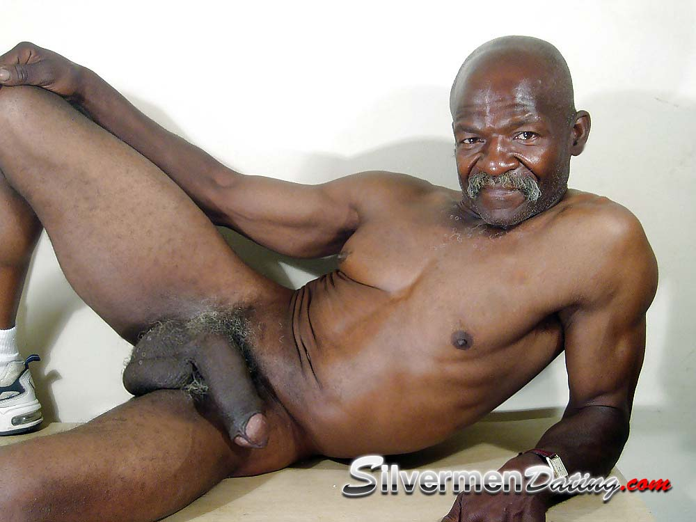 nude Black man