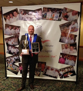 congratulations chef denny:  ncacf chef of the year!!!