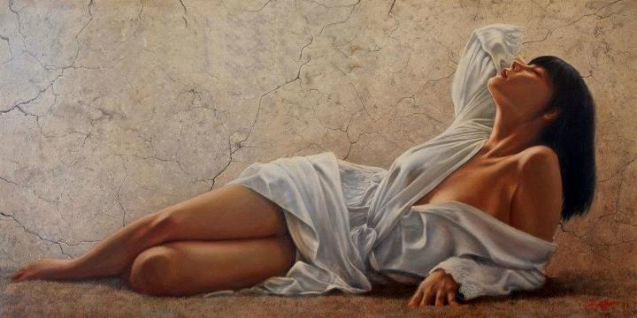 John Silver 1959 | British Figurative painter