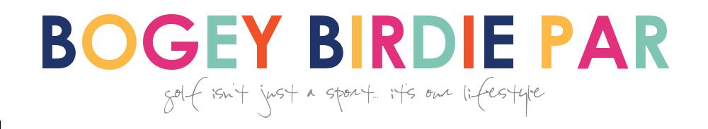 Bogey Birdie Par