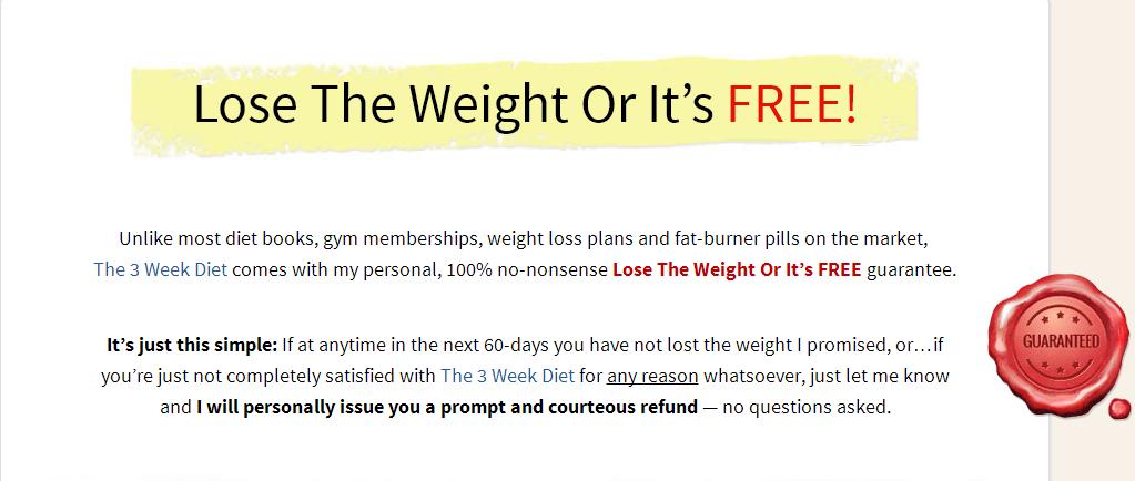 3 week diet system pdf