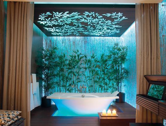 Baños Jacuzzi Modernos:Baños Modernos: Baño elegante