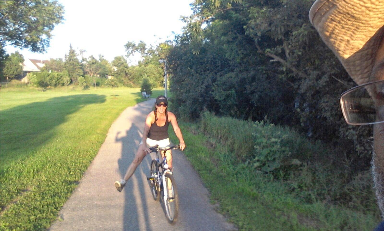 susan fennell, brampton, bermuda, marie sutherland, bike trails brampton,