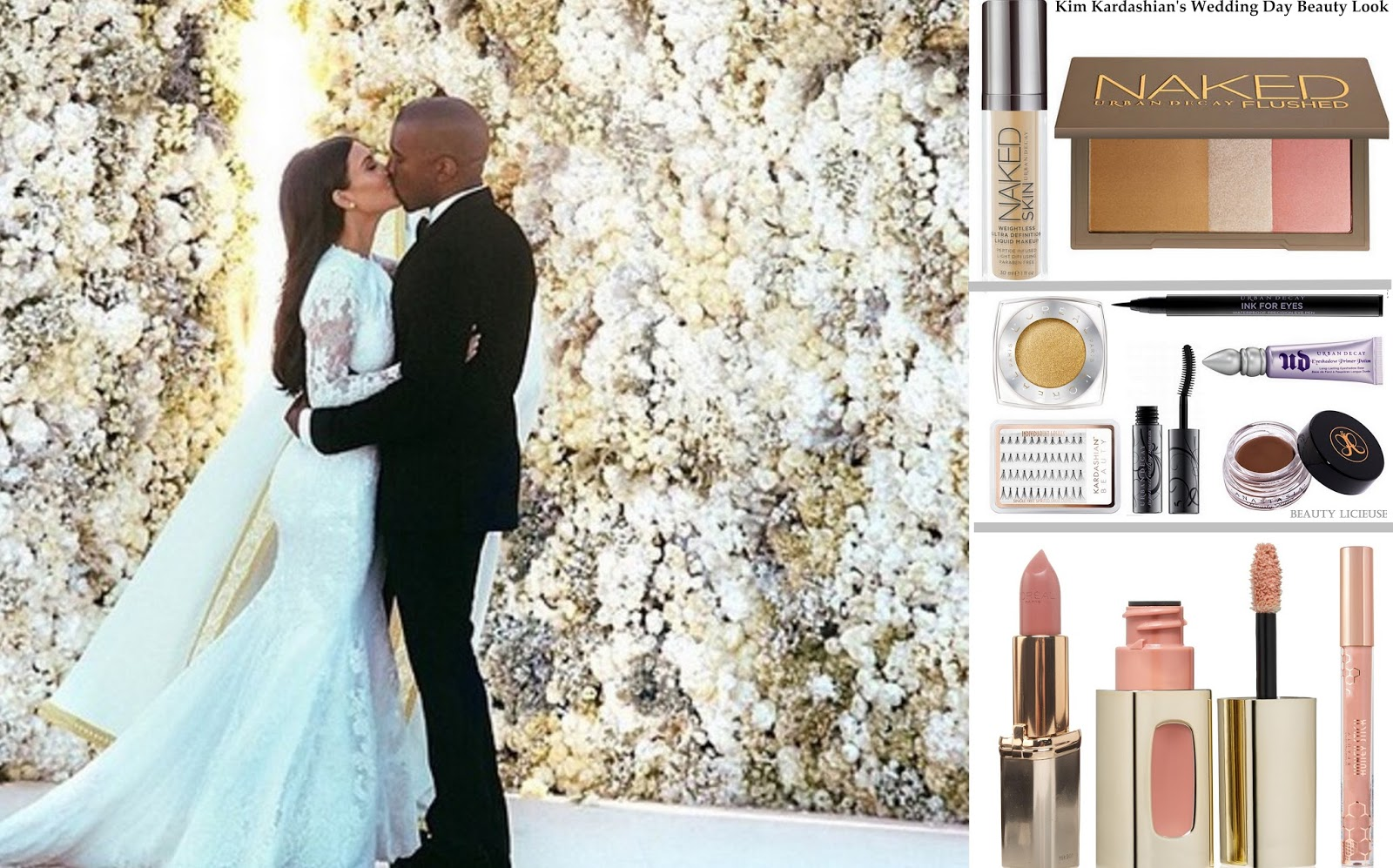 D cryptage du beauty look de kim kardashian pour son for Deco maison kim kardashian