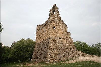 Restos de la torre de telegrafía óptica