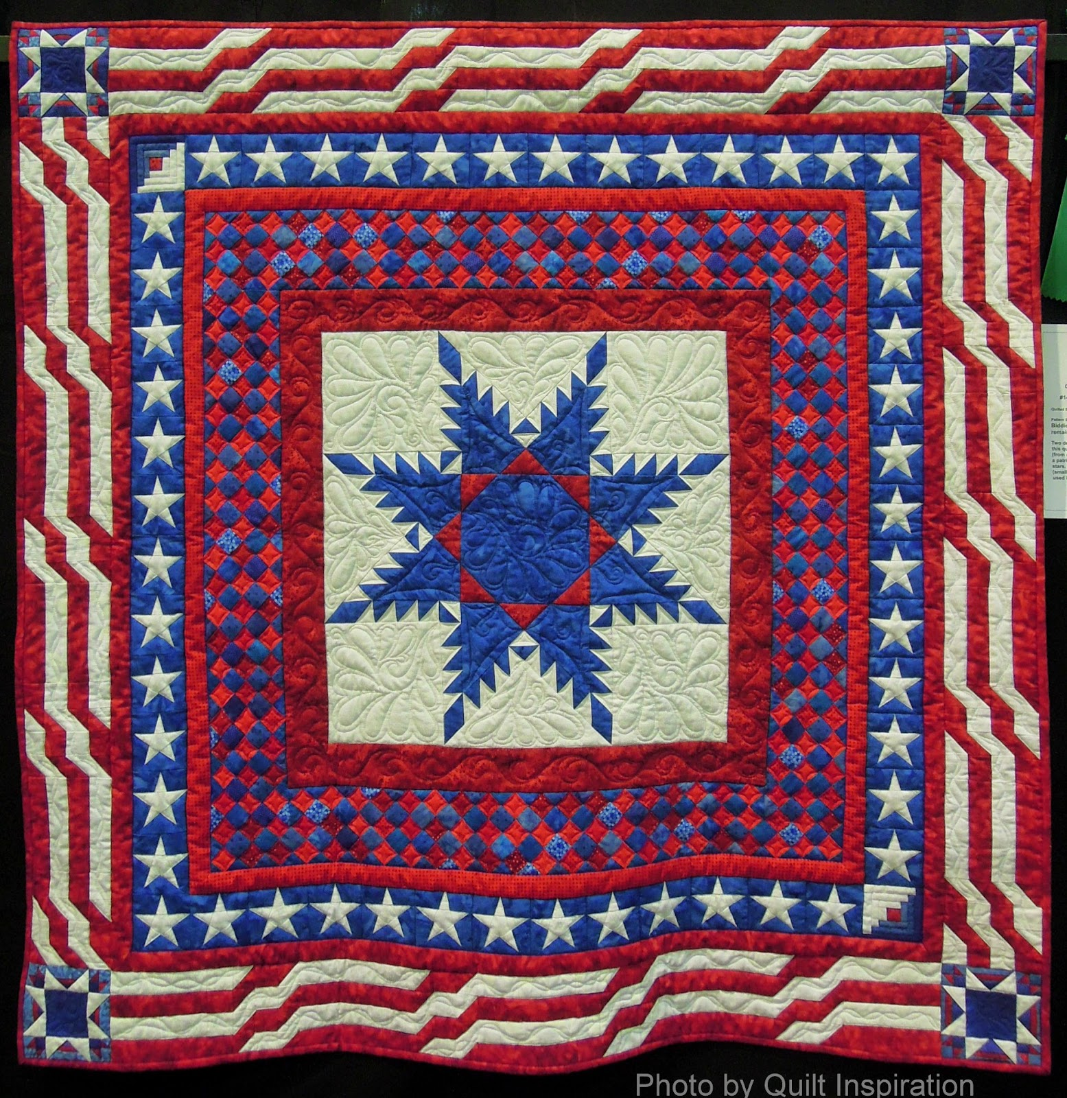 Quilt Inspiration: Fourth of July 2014 : fourth of july quilt pattern - Adamdwight.com