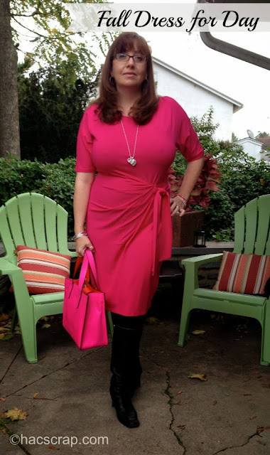 Hot Pink Dress from Ann Taylor