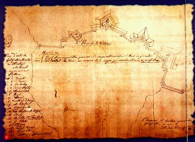 Ο μηχανικος Μιχαηλ Κοκκινης και η οχυρωση του τειχους του Μεσολογγιου (1823-1824)