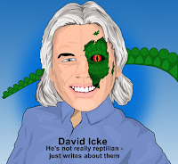 David Icke cartoon