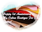 Happay 1st anniversary My Online Boutique