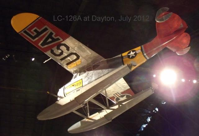 Cessna LC-126 floatplane