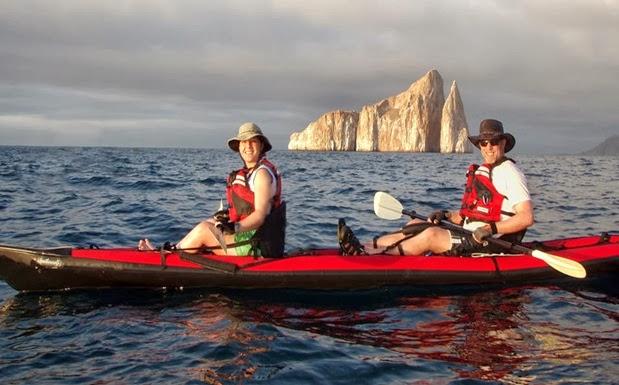 Turismo en Ecuador Kayak en las Islas Galápagos
