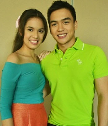 Dom Roque and Michelle Vito Aryana teen cast