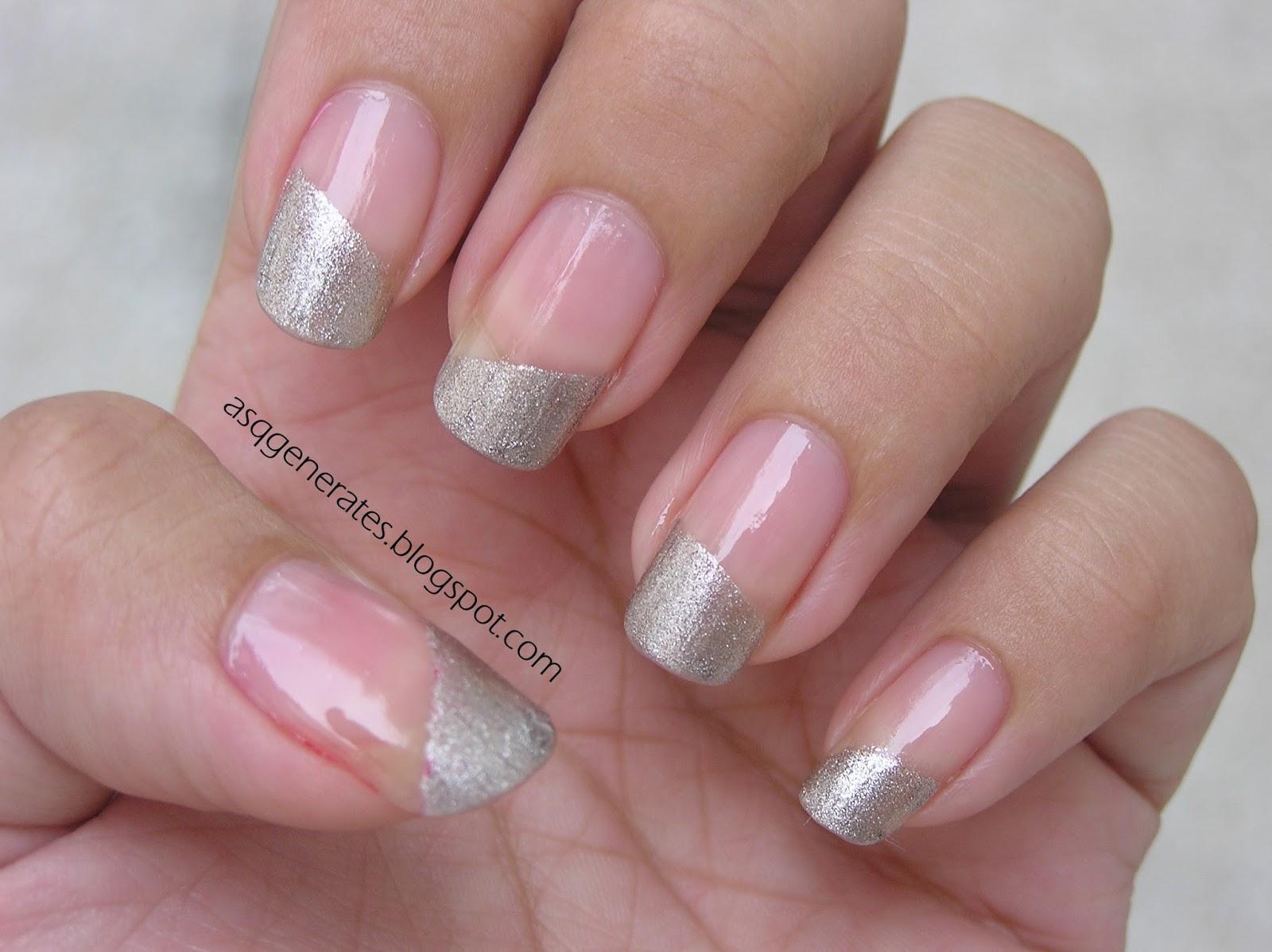 Stone Nail Art Eid nail art design