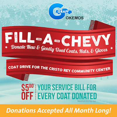 Fill-a-Chevy Coat Drive for the Cristo Rey Community Center