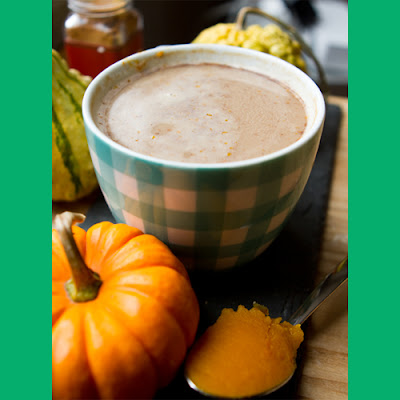 Homemade Pumpkin Spice Chai Tea Lattes