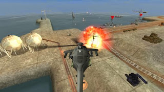 Screenshots of the Gunship battle Helicopter 3D for Android tablet, phone.