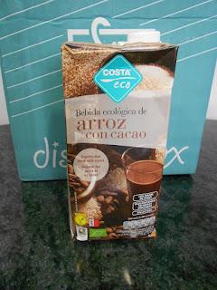 Bebida ecológica de Arroz con Cacao