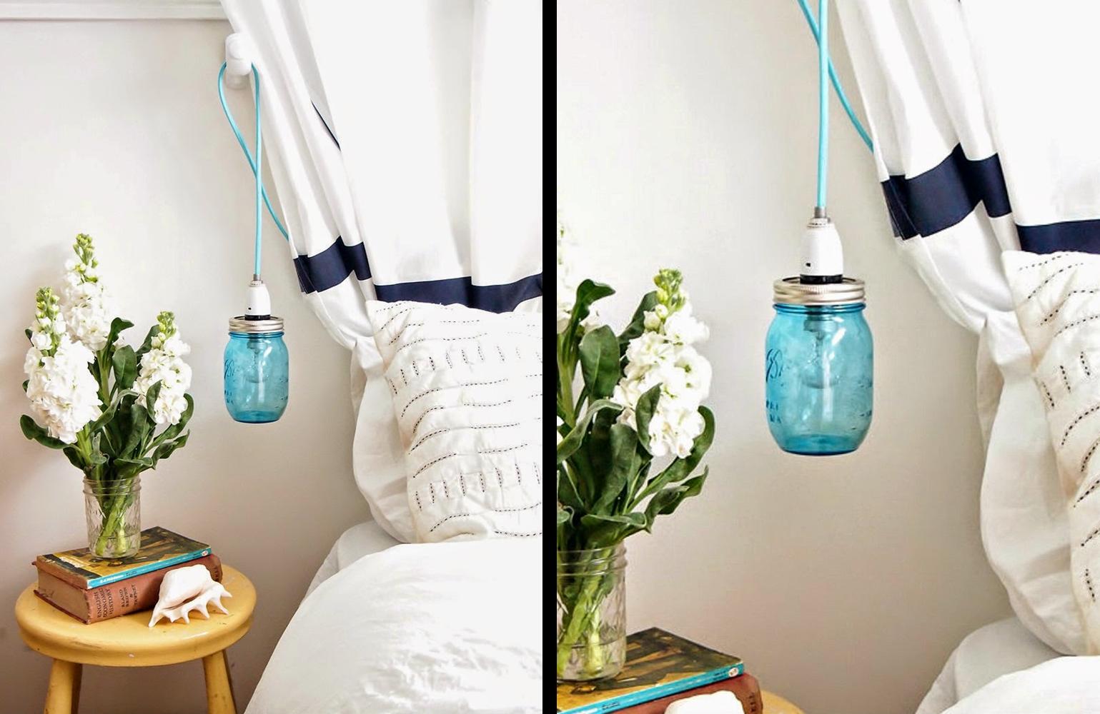 Decoraci n f cil diy lampara vintage con un tarro de - Decoracion vintage reciclado ...