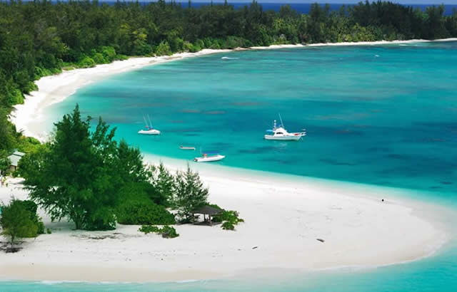 DENIS - private island in Seychelles