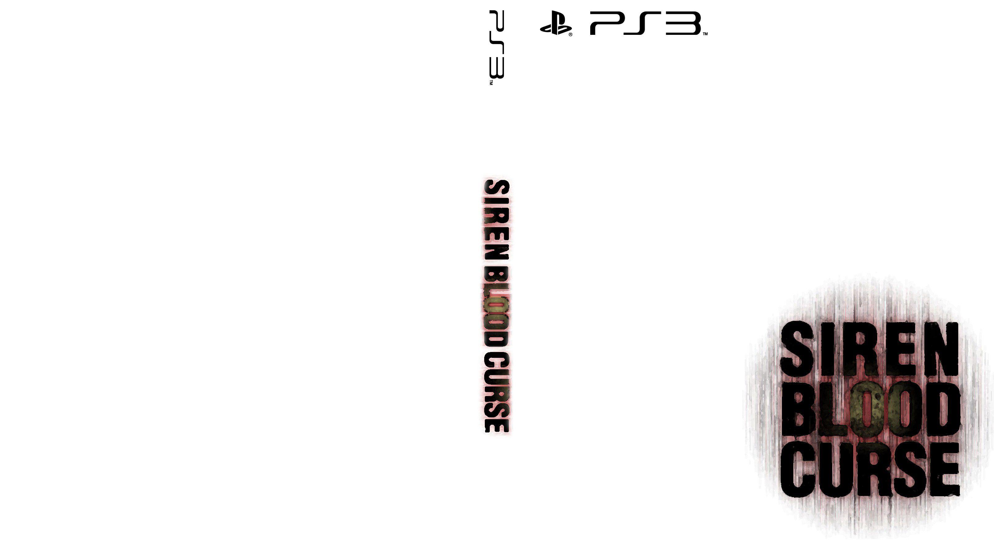Capa Sire Blood Curse PS3