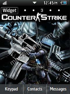 Themes for a Phone - Corby 2 Theme Counter Strike Game Theme
