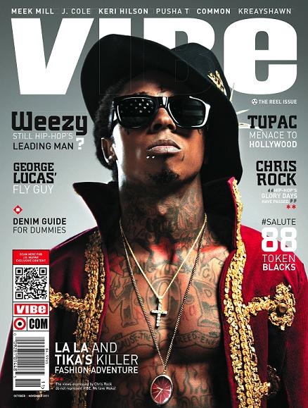 "Lil Wayne Covers ""Vibe"" Magazine"