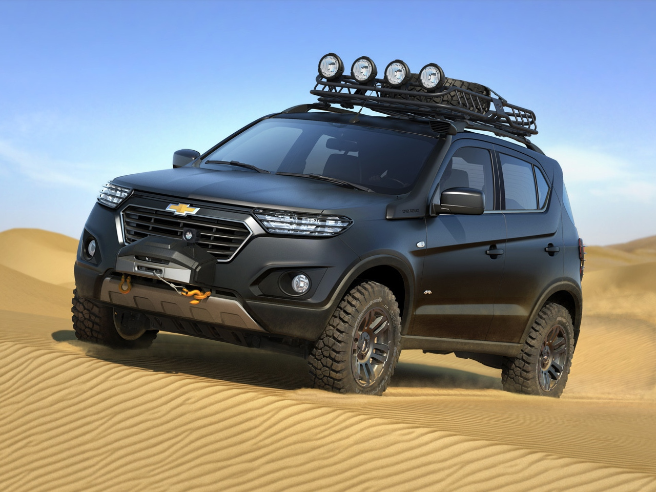 chevrolet 39 s new niva suv concept steps out of the shadows carscoops. Black Bedroom Furniture Sets. Home Design Ideas