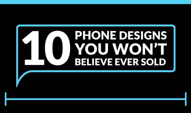 10 Phone Designs you Won't Believe Ever Sold