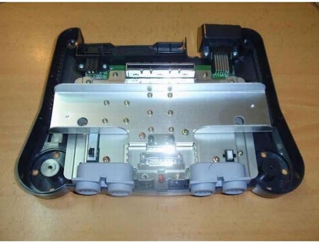 awesome, video games, console, nintendo 64, transform nintendo 64 into handheld console, geek, pictures, how to make portable nintendo 64
