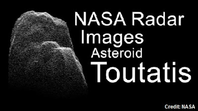 Toutatis Asteroid Video Images - 2012