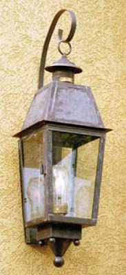 outdoor gas light