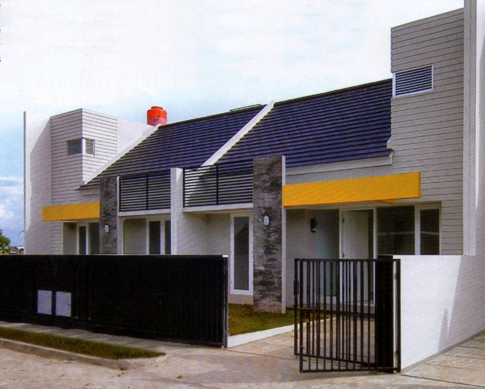 desain rumah minimalis trik jitu menyiasati lahan sempit