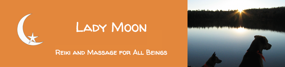 Lady Moon, Reiki and Massage for All Beings