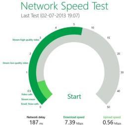 Test di velocità internet