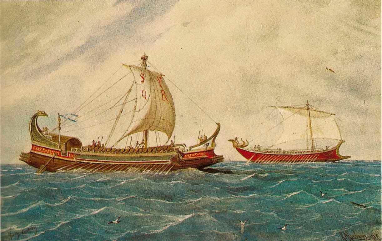 Usufructo sobre nave en Derecho romano
