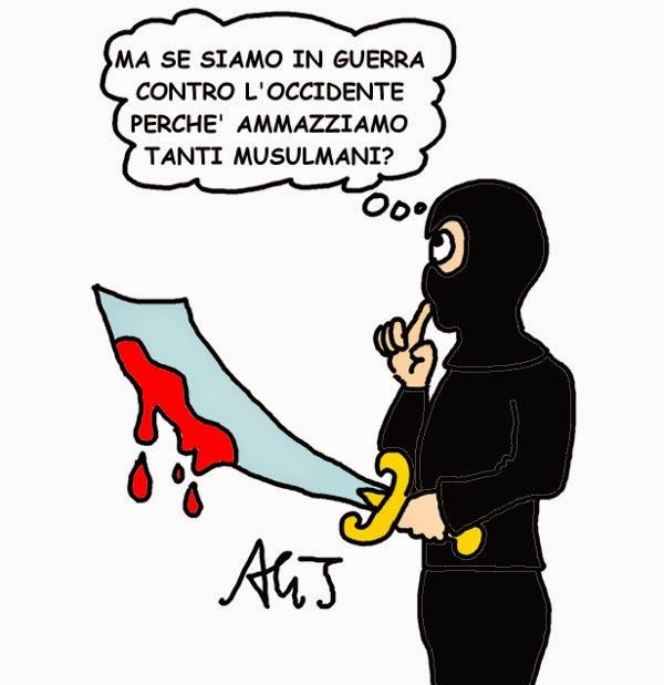 charlie hebdo, terrorismo islamico, islam, satira, vignetta