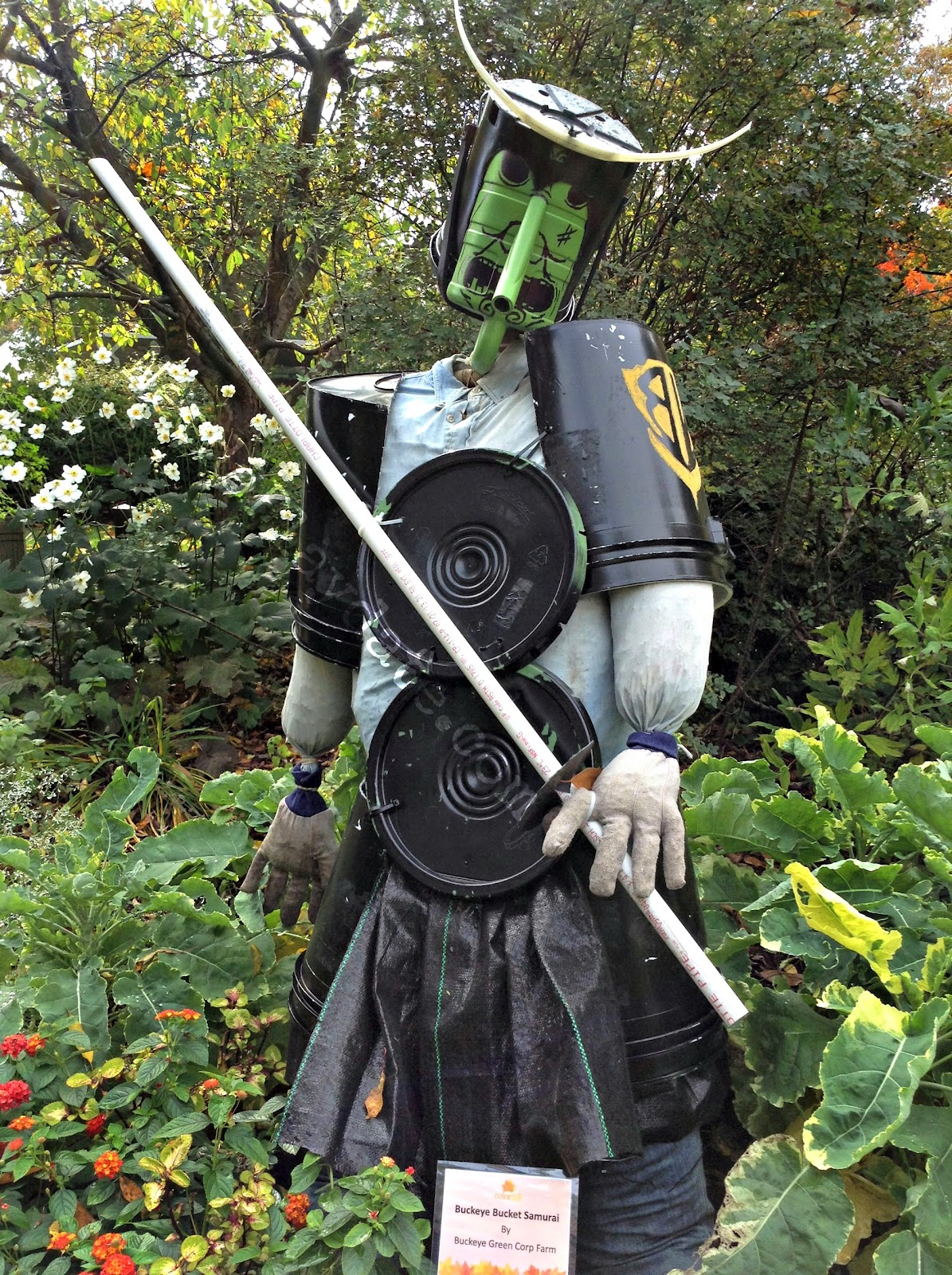 Defender of the Garden  | ColorFall at CLE Botanical Garden