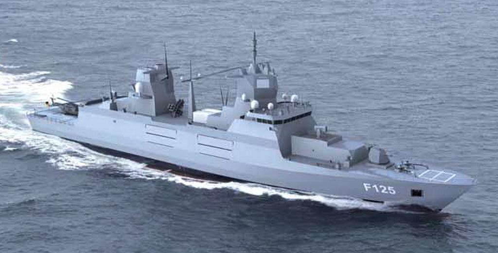 Fregatte 125 (Quelle: ARGE F125)