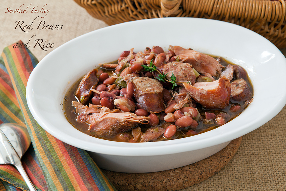 Cafe Lynnylu: Smoked Turkey Red Beans, Spicy Sausage and Rice